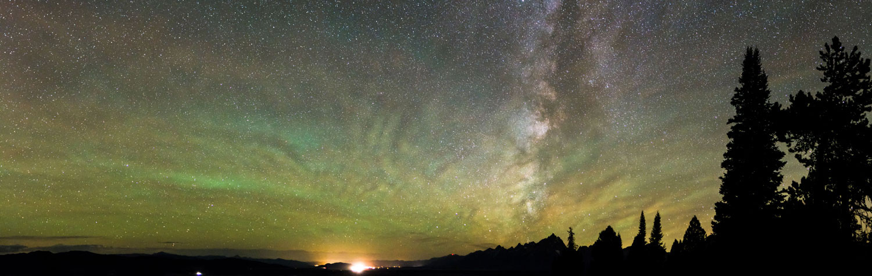 Milky Way over Jackson Hole