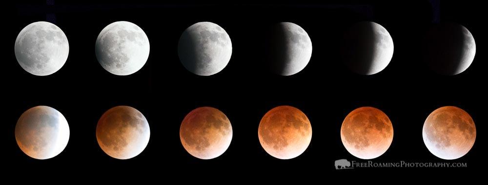 Total lunar eclipse tonight!