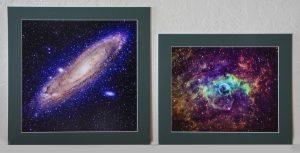 Mounted Deep Space Image Photos